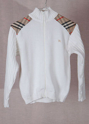 Burberry London  NOVA CHECK sweater Size: 6Y-116  authentic...