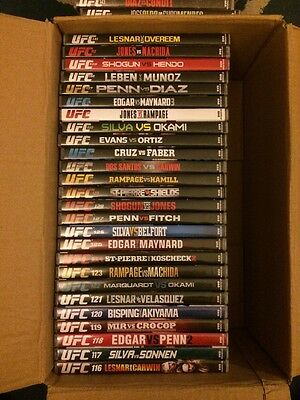 ufc dvd collection 46 dvd's
