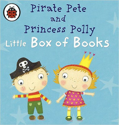Pirate Pete and Princess Polly's Little Box of Books (Pirate Pete & Princess Pol