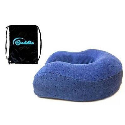 Buddie Neck pillows for travel - Travel neck pillow with Premium Memory Foam C2