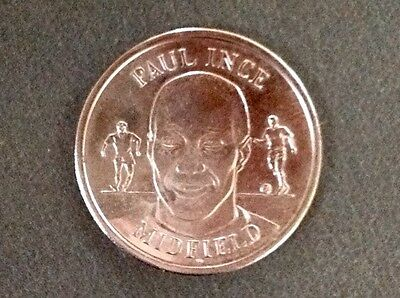 1998 World Cup coin - Paul Ince