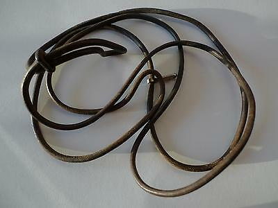 German ww2 WH officers leather lanyard for P08 or P38 pistol, 100% original