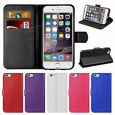 10 X iphone 6 / 6S Joblot Magnetic Flip Cover Stand Wallet Leather Case mix