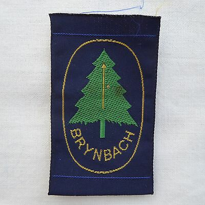 New Vintage Brynbach District Scout Badge Ribbon Woven Ref 145