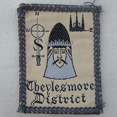 New Vintage Cheylesmore District Scout Badge Woven Bound New Ref 307