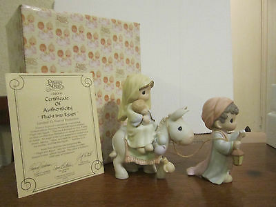 Precious Momments Flight Into Egypt 1998 Special Limited Edition Eyeglasses Mark
