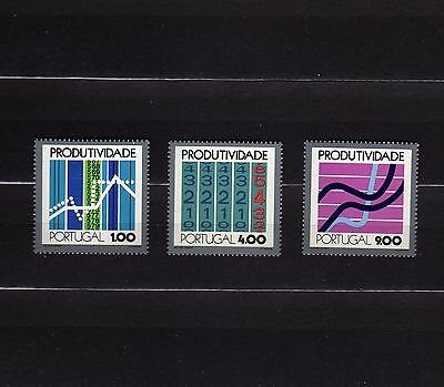 Portugal #1167-1169 Mnh Productivity Conference