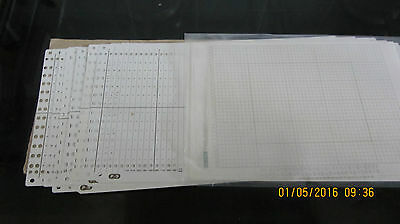 12 Stitch Punch Cards For Knitmaster Sk 155 Knitting Machines Pack Of 10
