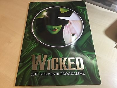 Wicked The Musical London Programme 2016/17 Rachel Tucker.10th Anniversary Cast