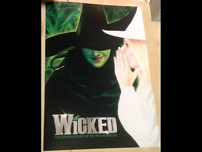 Wicked the Musical Programme London, Gina Beck and Rachel Tucker