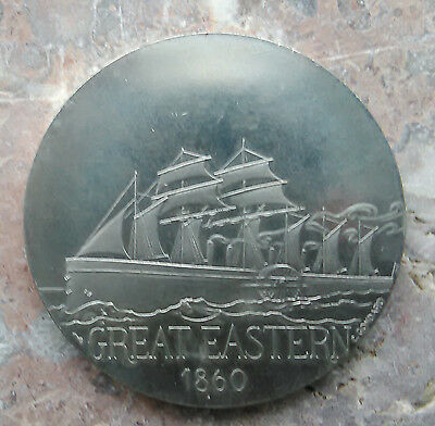 Vintage Great Eastern Commemoration Medal  'Great Ship Company 1860'