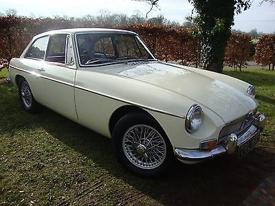 Mg B Gt 1.8 Chrome Bumper White 1967 Mk1