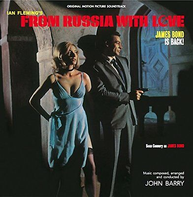 LP James Bond from russia with love ( coloured vinyl ) New & sealed
