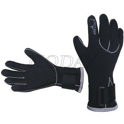 3mm Neoprene Scuba Diving Snorkeling Surfing Spear Fishing Water Sports Gloves