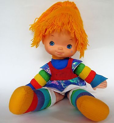 "Rainbow Brite doll 1983 Hallmark 20"" soft body vintage"