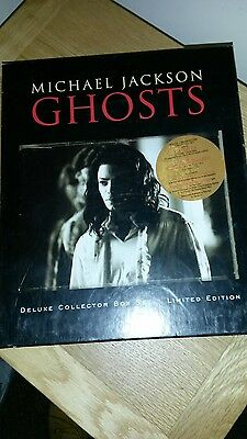 michael jackson ghosts deluxe collectors  limited edition box set