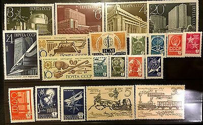 USSR stamps collection, Culture, Art, Traditions, Architect, MNH