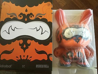 """Orange Drop Dunny 20 """" By Andrew Bell Sold Out New Kidrobot Kozik Kronk Huck Gee"""
