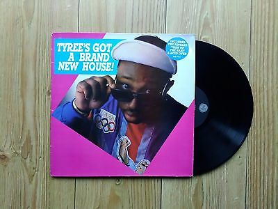 Tyree ‎– Tyree's Got A Brand New House! : FFRR LP 1988 ACID HOUSE OLD SKOOL