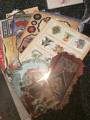 Christmas Craft Clearout Toppers & Card