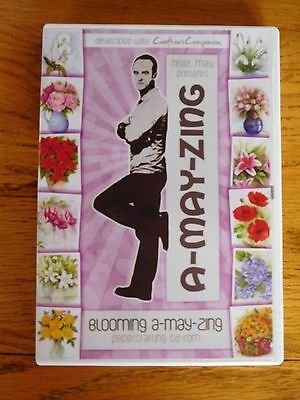 Blooming A-may-zing Papercrafting CD by Nigel May
