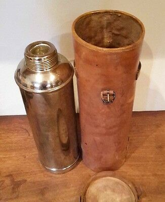 A Vintage Leather Cased Thermos 4421 Flask