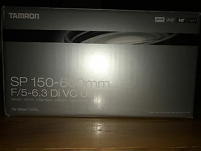 Tamron SP 150-600mm F/5-6.3 Di VC USD Lens for Nikon Brand New F0859