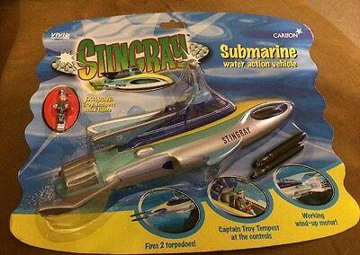 Vivid Imaginations Carlton Gerry Anderson  Submarine Troy Tempest Carded 2001
