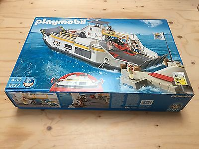 Playmobil car ferry and Pier Boxed 5127