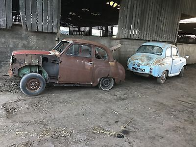 1955 Austin A35 2 Door For Restoration,2 Cars For The Price Of One,del Possible