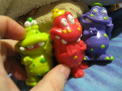 Toys; Weird Looking Little Critters! Can Swap Bottoms!cool 'monsters'! Look!