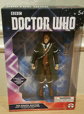 """Underground Toys Doctor Who The Eighth 8th Doctor 5.5"""" Figure In Stock"""