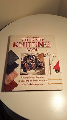 The Complete Step By Step Knitting Book 30 Knitting Patterns