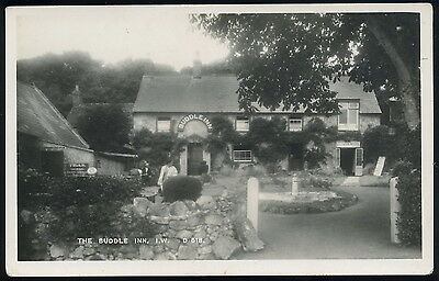 RP Postcard - The BUDDLE INN, Isle of Wight