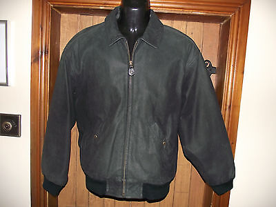 TIMBERLAND leather,suede,jacket, great, condition. nice details bomber size s