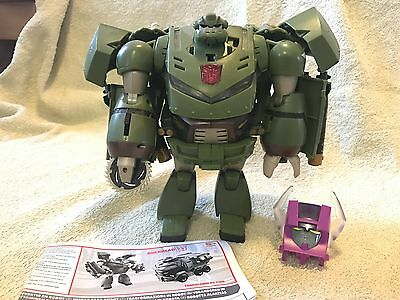 Transformers Animated Bulkhead (Leader Class)