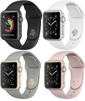 Apple WATCH Series 1 38MM Aluminum Case Sport Band - All Colors