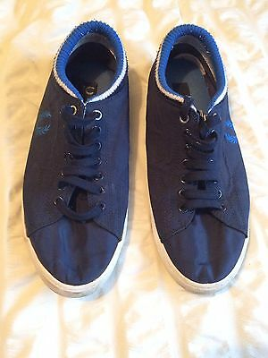 Men's Fred Perry Canvas Shoes Size 9