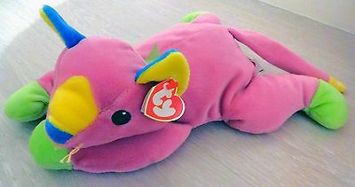 Ty Beanie Buddies Meow the Cat Rare 14 inch