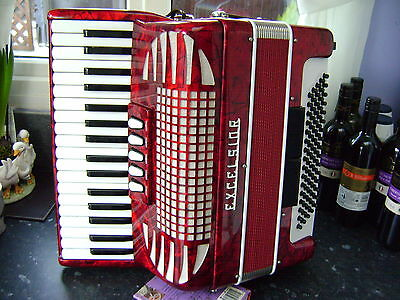 Excelsior 80 Bass Piano Accordion Only 8.6 Kg