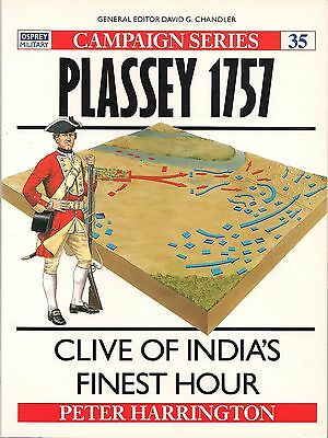 Osprey Campaign series #35, Plassey 1757, by Peter Harrington
