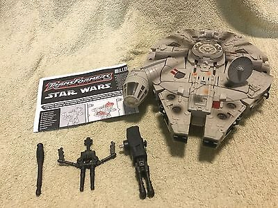 Transformers Star Wars Crossovers Millennium Falcon