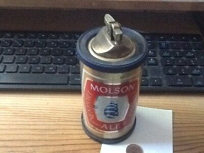 MOLSON EXPORT ALE ADVERTISING TABLE LIGHTER AS IS lot 2