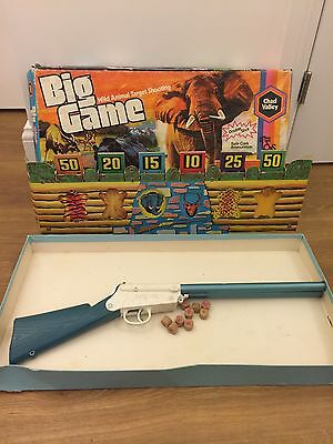 VINTAGE 1960's 1970's CHAD VALLEY BIG GAME WILD ANIMAL TARGET SHOOTING BOXED