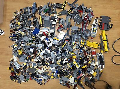 LEGO JOB LOT OF 3.5kg OF STAR WARS AND OTHERS PARTS.