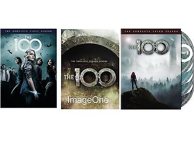 The 100: The Complete Series Season 1-3  DVD NEW