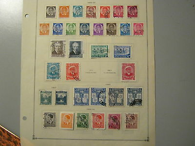 Yugoslavia 1935 - 1940 43 Stamps From This Period  All Fine Used