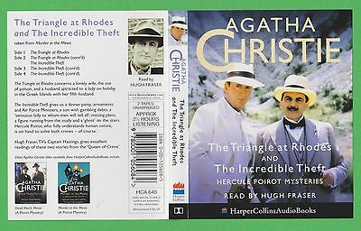 The Triangle At Rhodes & The Incredible Theft, Agatha Christie Audio Book (P239)
