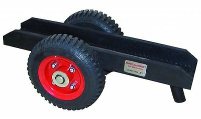 """Abaco SD008 Slab Dolly With 8"""" Rubber Tires"""