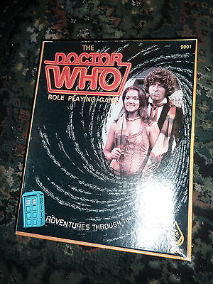 Doctor Who Role Playing Game FASA 1985 with 3 Extra Books